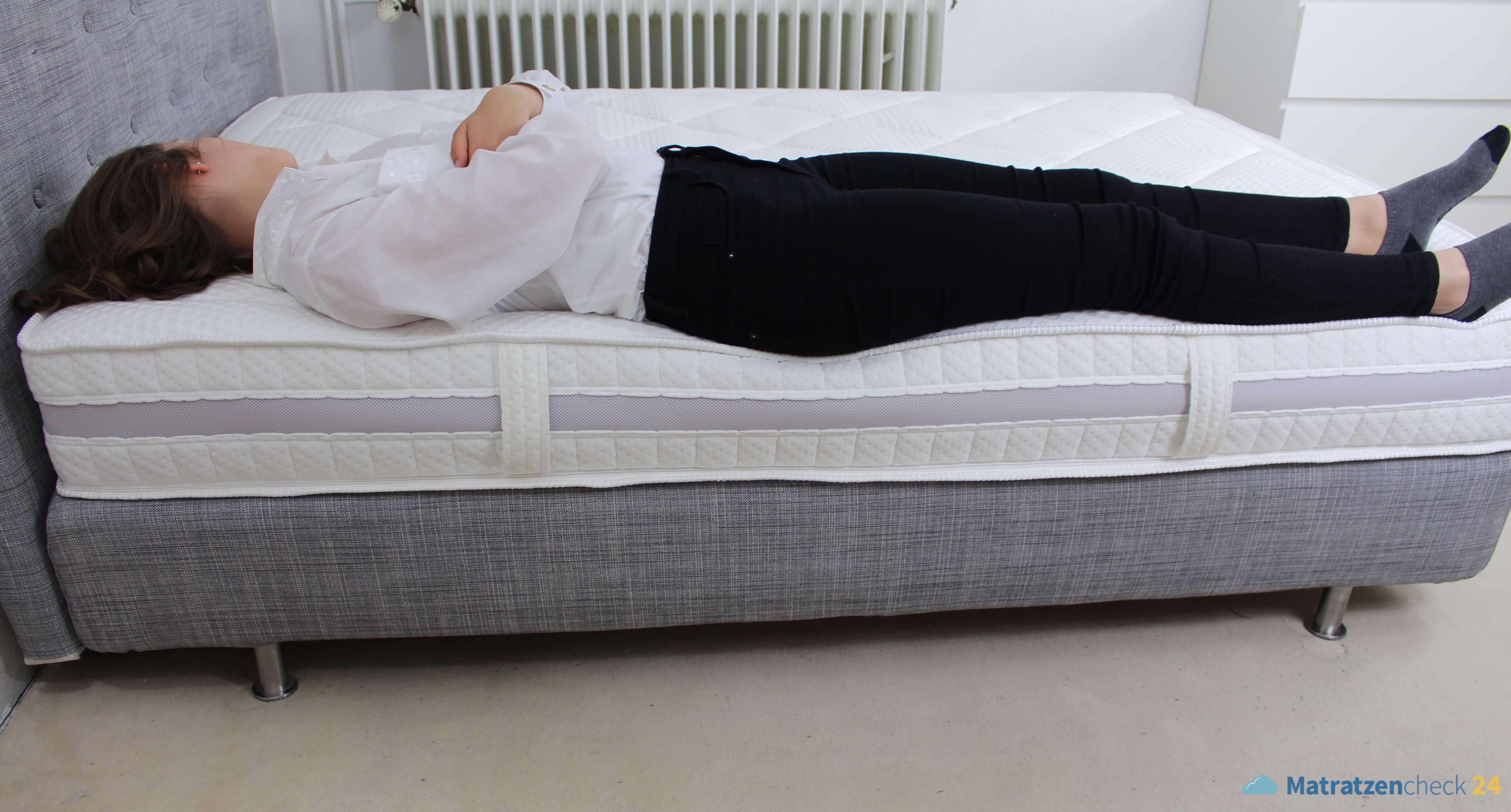 Ravensberger ERGOspring® Matratze mit Rückenschläferin