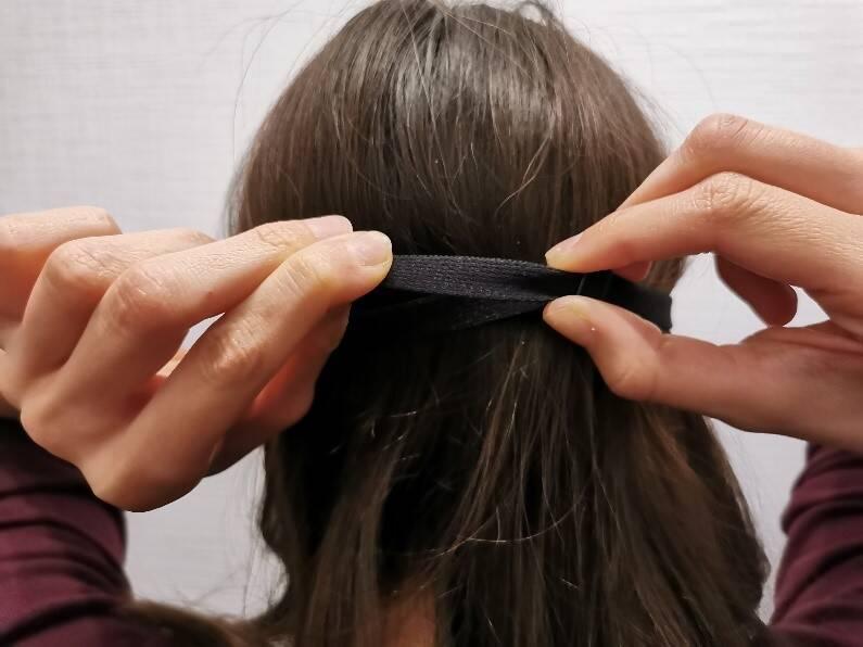 Auf diese Weise lässt sich die Mavogel Maske an den Kopfumfang anpassen
