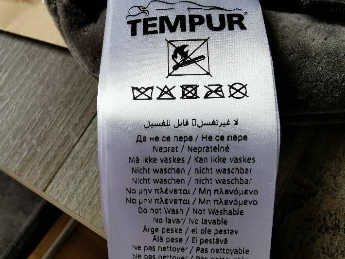 Leider kann die Schlafmaske nicht gereinigt werden.