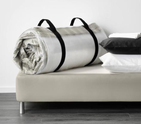 IKEA-Hafslo rolled up