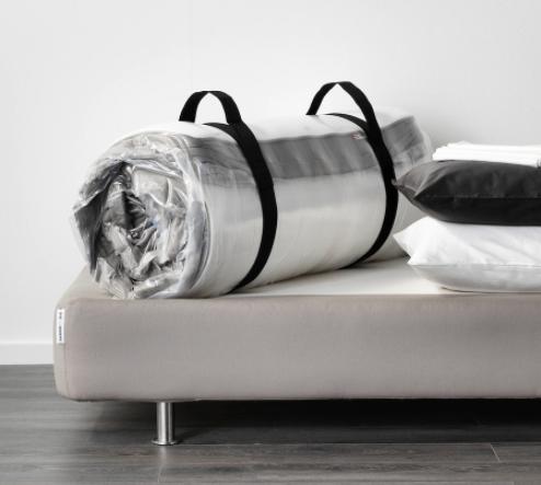 IKEA Hamarvik rolled-up