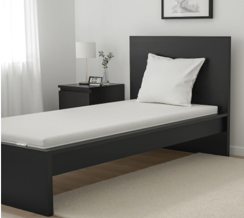 IKEA Moshult on bed